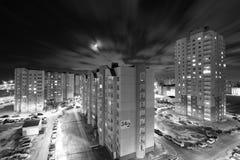 Distrito de la noche Imagen de archivo