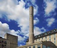 Distrito de la orilla del río de Minneapolis Imagen de archivo libre de regalías
