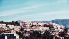 Distrito de Lapad en Dubrovonik Imagenes de archivo