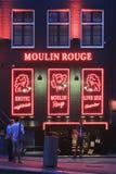 Distrito de luz vermelha em Amsterdão Fotografia de Stock Royalty Free