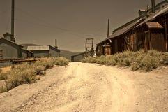 Distrito de mineração abandonado Fotografia de Stock