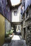 Distrito de Miragaia en Oporto viejo foto de archivo libre de regalías