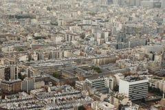 Distrito de París Foto de archivo libre de regalías