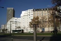 Distrito 13 de París Edificios imagenes de archivo