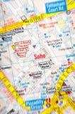 Distrito de Soho Foto de Stock Royalty Free