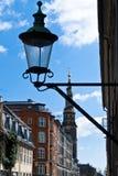 Distrito de una ciudad de Christianshavn, Copenhague, Dinamarca Fotografía de archivo libre de regalías