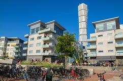 Distrito de Vastra Hamnen em Malmo Skane, Suécia Foto de Stock