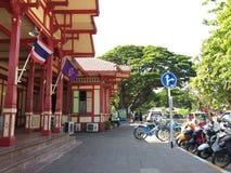 Distrito del hin de Hua Foto de archivo libre de regalías