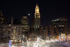 Distrito del muelle de Boston Imagen de archivo