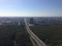 Distrito del sudoeste moscú Fotografía de archivo libre de regalías