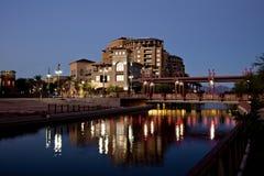 Distrito do beira-rio de Scottsdale o Arizona Imagem de Stock