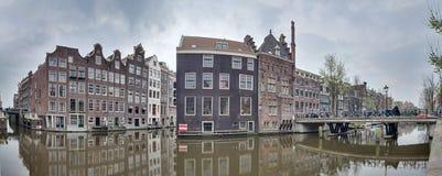 Distrito do canal de Amsterdão Imagem de Stock