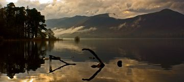 Distrito do lago Foto de Stock