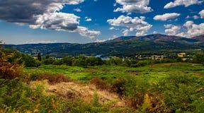 Distrito do lago em grande Brittain Foto de Stock Royalty Free