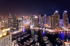 Distrito do porto de Dubai foto de stock royalty free