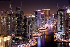 Distrito do porto de Dubai fotos de stock royalty free