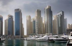 Distrito do porto de Dubai imagem de stock