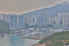 Distrito do sul de Hong Kong Ap Lei Chau Imagens de Stock Royalty Free