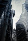 Distrito financeiro Imagem de Stock Royalty Free