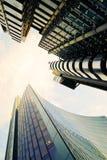 Distrito financeiro Foto de Stock Royalty Free