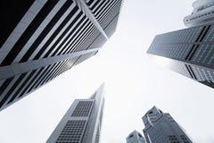 Distrito financeiro central Fotografia de Stock Royalty Free