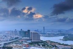 Distrito financeiro da baía de Xiamen Xinglin fotos de stock