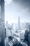 Distrito financeiro da skyline fotografia de stock