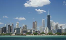 Distrito financeiro de Chicago Imagens de Stock Royalty Free