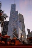 Distrito financeiro de Hong Kong imagem de stock royalty free