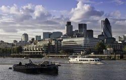 Distrito financeiro de Londres Foto de Stock Royalty Free