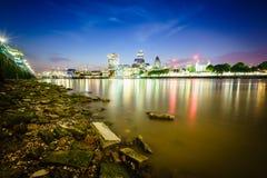 Distrito financeiro de Londres Imagens de Stock Royalty Free