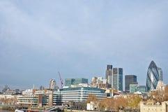 Distrito financeiro de Londres, Reino Unido Fotografia de Stock