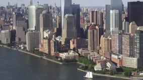 Distrito financeiro de New York City, Manhattan, NYC filme