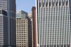 Distrito financeiro de NYC foto de stock