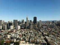 Distrito financeiro de San Francisco foto de stock