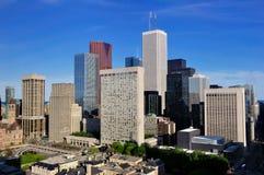 Distrito financeiro de Toronto Fotografia de Stock Royalty Free