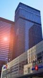 Distrito financeiro de Toronto - bancos principais fotografia de stock