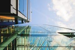 Distrito financeiro em Londres Imagens de Stock Royalty Free