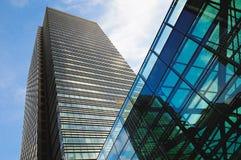 Distrito financeiro em Londres Imagens de Stock