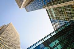 Distrito financeiro em Londres Imagem de Stock Royalty Free
