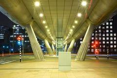 Distrito financeiro futurista Fotografia de Stock