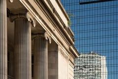 Distrito financiero central Fotografía de archivo libre de regalías