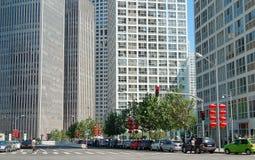 Distrito financiero central Imagen de archivo