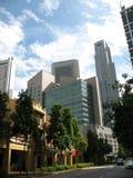 Distrito financiero central (cbd Fotografía de archivo libre de regalías