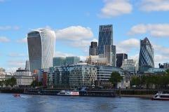 Distrito financiero de Londres Imagen de archivo