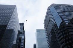 Distrito financiero de Marunouchi en Tokio, Japón Foto de archivo libre de regalías