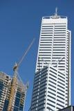 Distrito financiero de Perth del rascacielos Imagenes de archivo