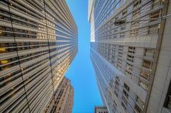 Distrito financiero de San Francisco Imágenes de archivo libres de regalías