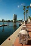 Distrito financiero de Tampa fotos de archivo libres de regalías