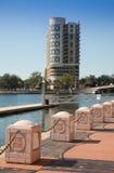 Distrito financiero de Tampa, la Florida fotografía de archivo